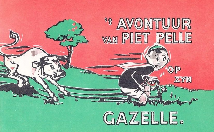 Elonisas IOT brengt Piet Pelle op zijn Gazelle weer tot leven