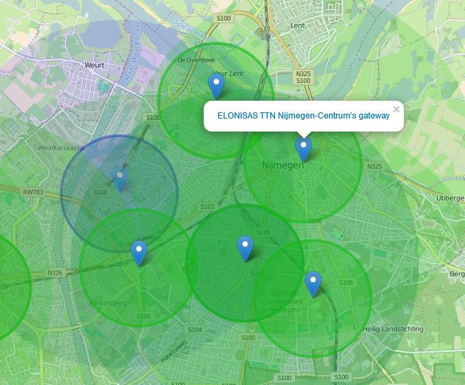 The_Thing_Network_Nijmegen_Dekking LoRa